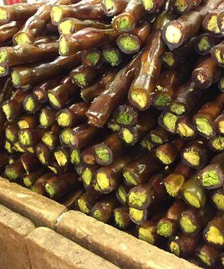 Fıstıklı Antep Sucuğu - lezzet yurdu fıstıklı sucuk-gaziantep fıstıklı sucuk
